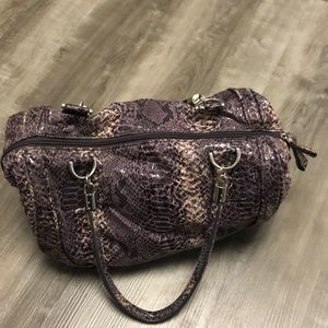 Purple Satchel / Purse